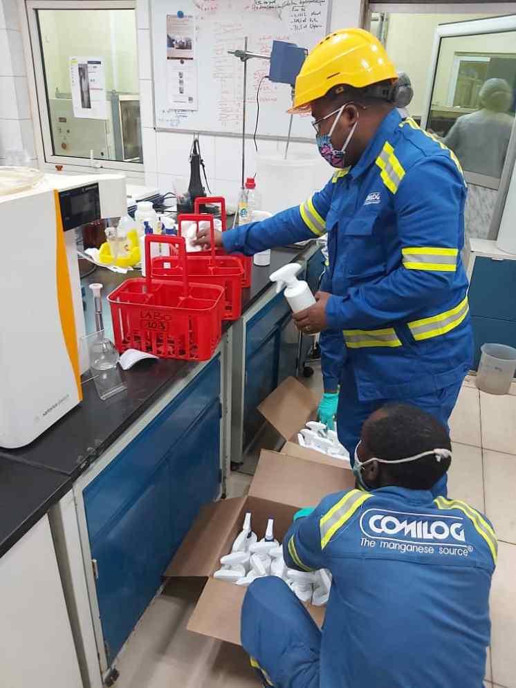 1594451344 8 Covid 19 Le C2M se lance dans la production de - Covid-19 : Le C2M se lance dans la production de gel hydroalcoolique