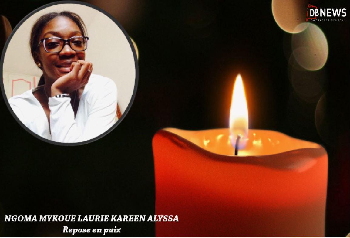 29 REPOSE EN PAIX2  - Gabon   Nécrologie : Disparition de la jeune NGOMA MYKOUE LAURIE KAREEN ALYSSA