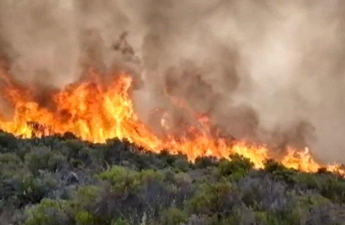 Tanzanie: incendie sur les flancs du Kilimandjaro