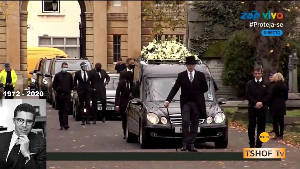 Londres les funerailles de SINDIKA DOKOLO 1972 2020 arrivee du cercueil - Londres : Les funérailles de l'homme d'affaires Congolais, SINDIKA DOKOLO (1972 - 2020)