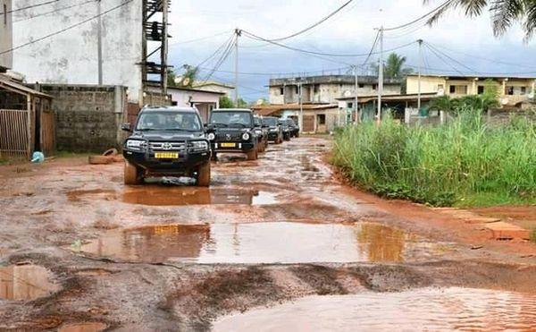 Gabon : Imminent programme de réhabilitation des voiries délabrées