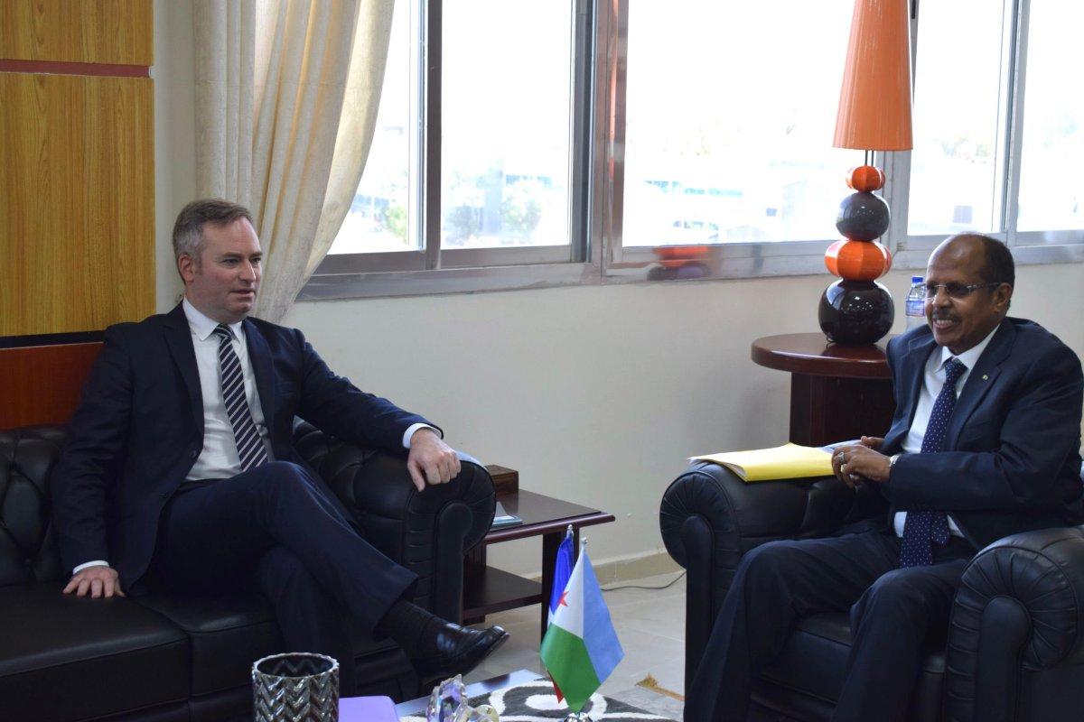 Djibouty lemoyne3 - France | Diplomatie : Visite de Jean-Baptiste Lemoyne à Djibouti