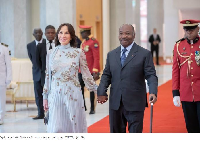 """Capture - Gabon   Ali Bongo : les cérémonies de présentation des """" vœux 2021 """" se dérouleront par visio-conférence."""