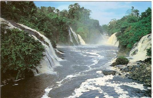 barrage chute fe2 - Projets hydroélectriques : Des avantages fiscalo-douaniers accordés à Asonha Énergie, Louetsi Hydro et Asokh Énergie