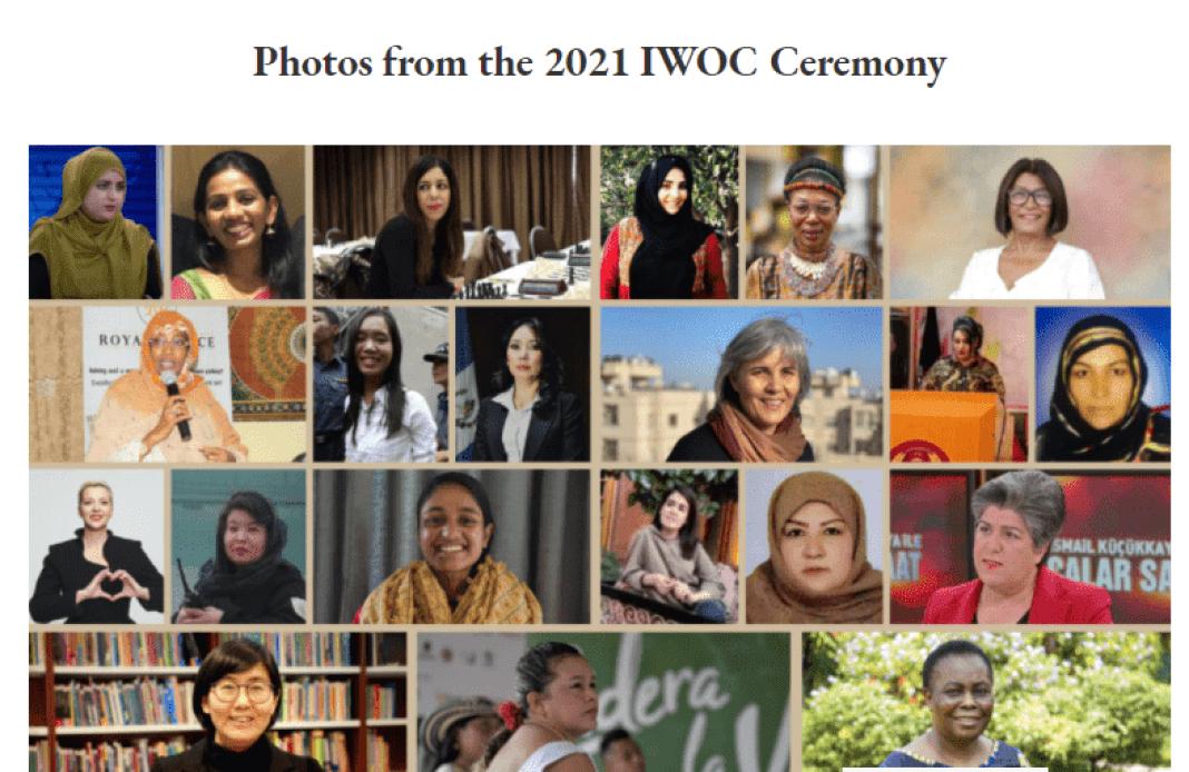 23 mars prix du courage 01 - U.S : Prix international du courage féminin  2021
