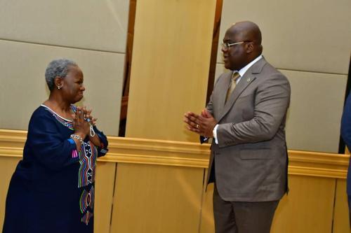 RDC : tête-à-tête Bintou Keita – Félix Tshisekedi