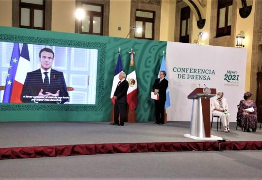 0001 09 Forum Generation Egalite 29 – 31 mars 2021 Macronjpg - Forum Génération Égalité (2021), Mexico 29 – 31 mars