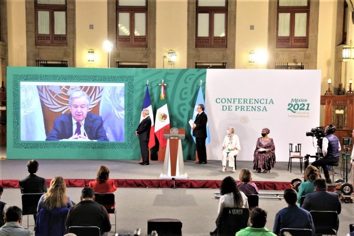 0003 011 Forum Generation Egalite 2021 29 – 31 mars Antonio Guterres - Forum Génération Égalité (2021), Mexico 29 – 31 mars