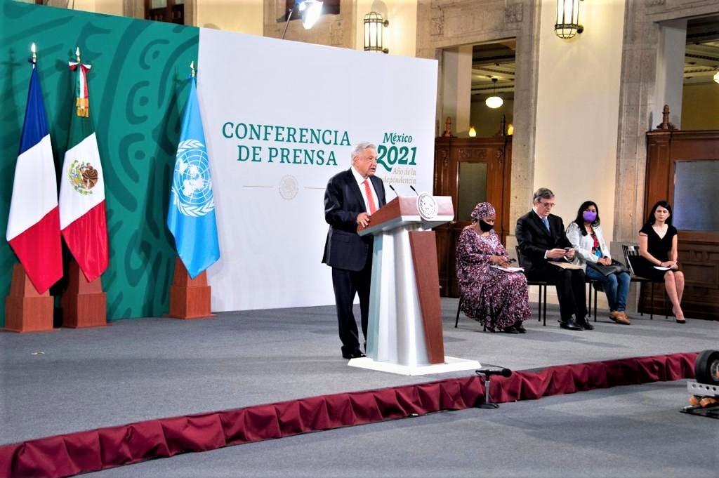 002 Forum Generation Egalite 29 – 31 mars 2021 Andres Manuel President du Mexique - Forum Génération Égalité (2021), Mexico 29 – 31 mars