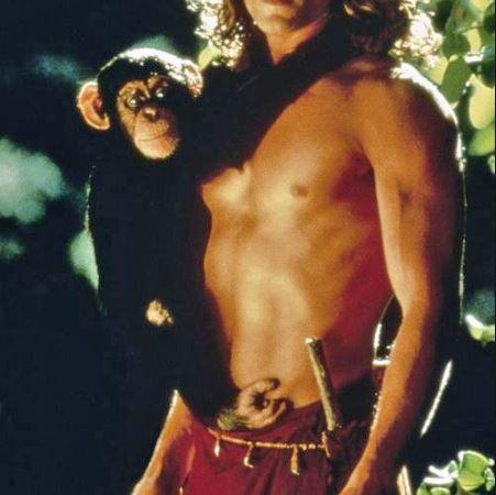 Joe Lara et série Tarzan dans les années 1990