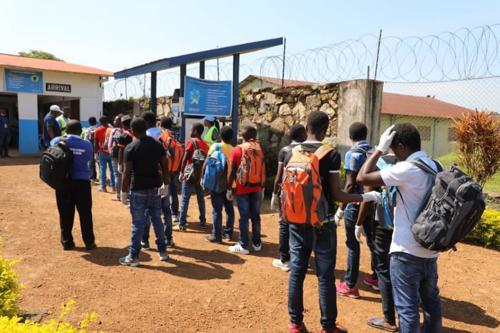Beni : l'armée remet à la MONUSCO 13 enfants capturés lors des affrontements avec les ADF