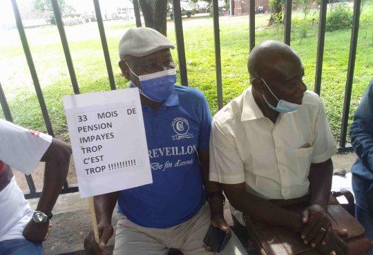 CongoSociete Le sit in des retraites repousse a une date - Congo/Société : Le sit-in des retraités repoussé à une date ultérieure
