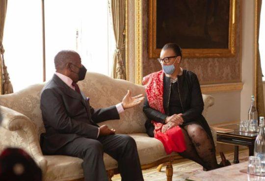Le president gabonais Ali Bongo Ondimba en visite de travail - Le président gabonais Ali Bongo Ondimba en visite de travail à Londres