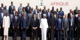 SOMMET - SOMMET DE PARIS SUR LE FINANCEMENT DES ECONOMIES AFRICAINES