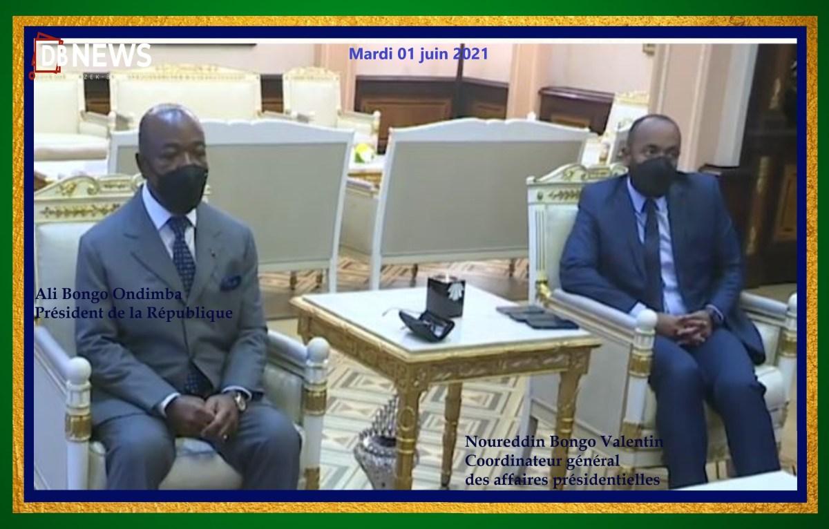 Ali Bongo Ondimba President du Gabon Son fils Noureddin Bongo Valentin CGAP - Gabon : que cache la cabale politique de Ian Ghislain Ngoulou contre Eugène Mba ?