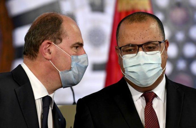 Castex en Tunisie pour «accompagner les réformes» dans «un pays ami»