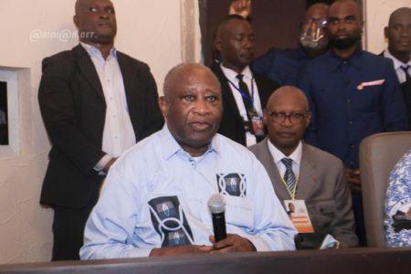 PSX 20210617 - Côte d'ivoire : Laurent Gbagbo «Je remercie les frères et sœurs camerounais pour leur mobilisation et leur solidarité»