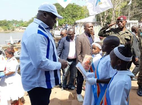 RDC : célébration du cinquantenaire de la ville de Zongo