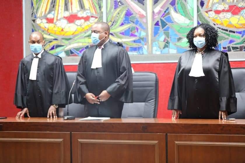 Gabon - Les juges - Tribunal de Libreville - Serge Olivier Nzikoue – Cérémonie de prestation de serment