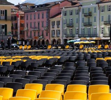 Après une interruption d'une année due à la Covid-19, mercredi 4 août 2021, ouverture du 74e Festival du Film de Locarno en Suisse.