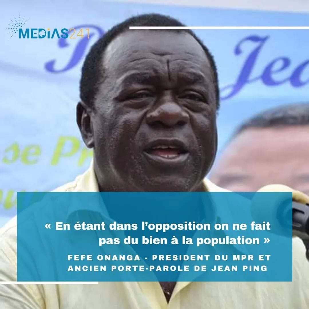 Gabon, Féfé Onanga retour PDG, parti de masse d'Ali Bongo