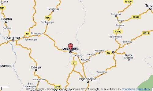 Mbuji-Mayi :  32 ménages d' expulsés d'Angola reçoivent chacun 100 USD