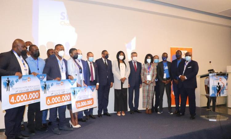 E-startup challenge :10 millions de francs pour «Tchina», 6 millions pour «Pozi» et 4 millions pour «Sciencia»