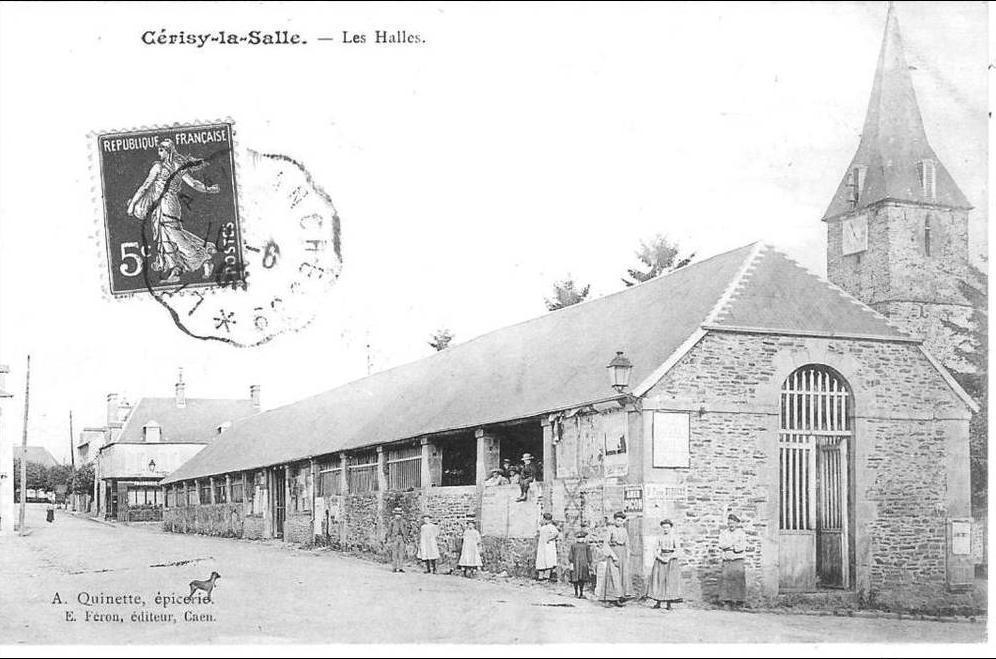 mairie de cerisy la salle la commune