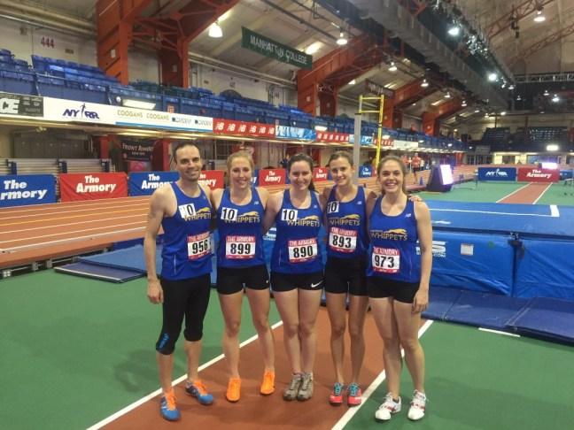 Dashing Whippets 5000m Relay Team
