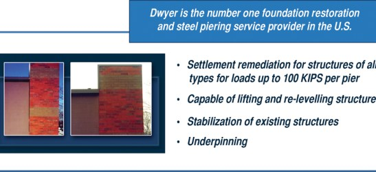 Dwyer's Patented Steel Piering System