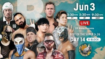 NJPW Best of the Super Jr.26 Day 14