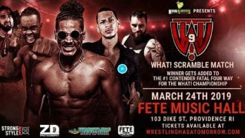WHAT Wrestling 2019