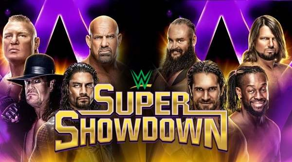 WWE Super Show Down 2019