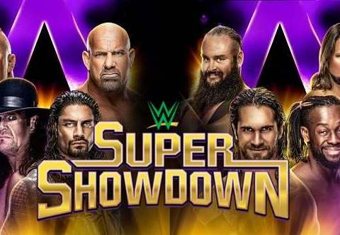 WWE Super Show Down 2019