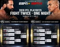 PFL Playoffs 9 2019