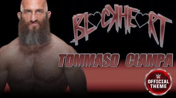 WWE Tommaso Ciampa black heart