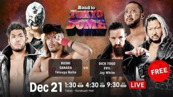 Watch NJPW Road to Tokyo Dome
