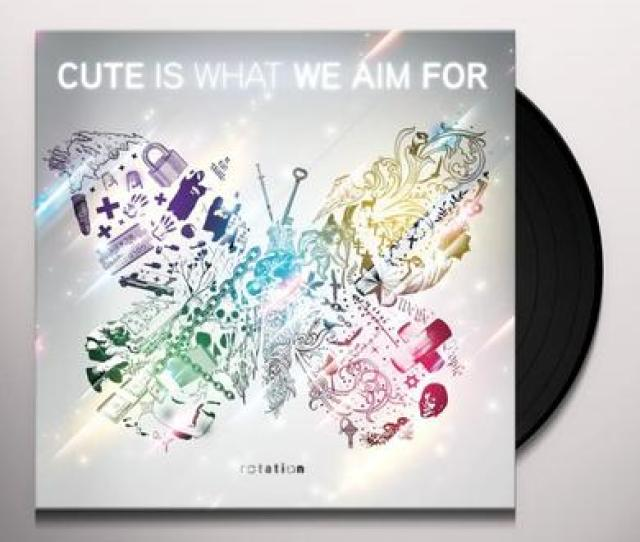 Cute Is What We Aim For Rotation Colored Vinyl