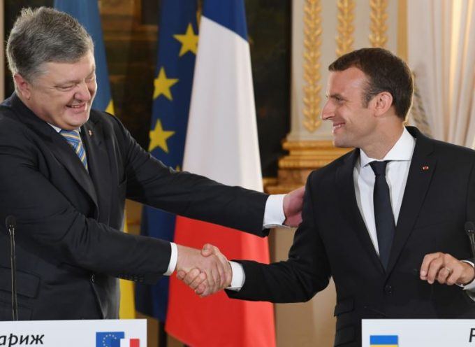 The Ukies come to Paris to meet with their bosses