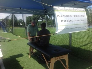 DxF sign Screening Event