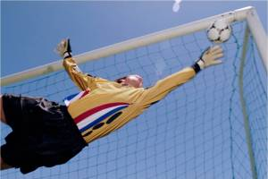 Jumping goalie - MS