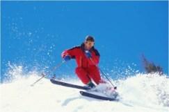 Snow skiier - MS