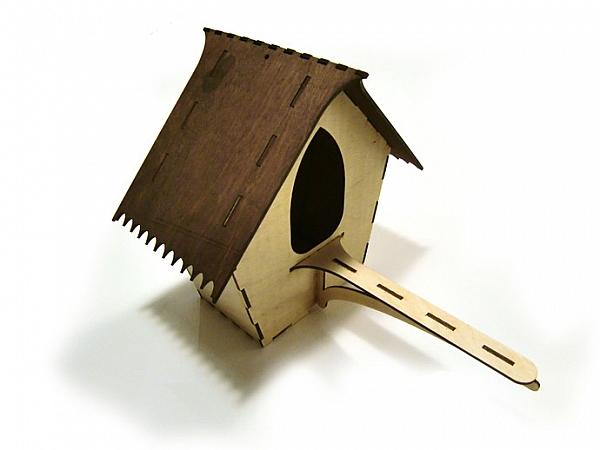 Lasercut Bird House