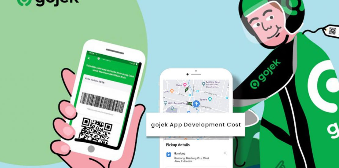 cost to develop an app like Gojek