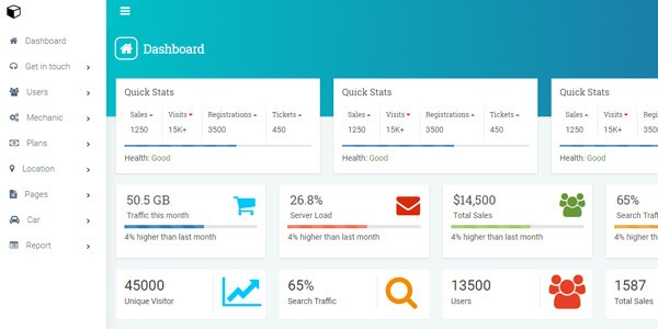 Car-Selling-Portal-Admin-Dashboard