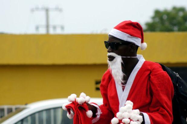 Angola D2/CT1ITE DX News Angolan Santa Claus, Feliz Natal.