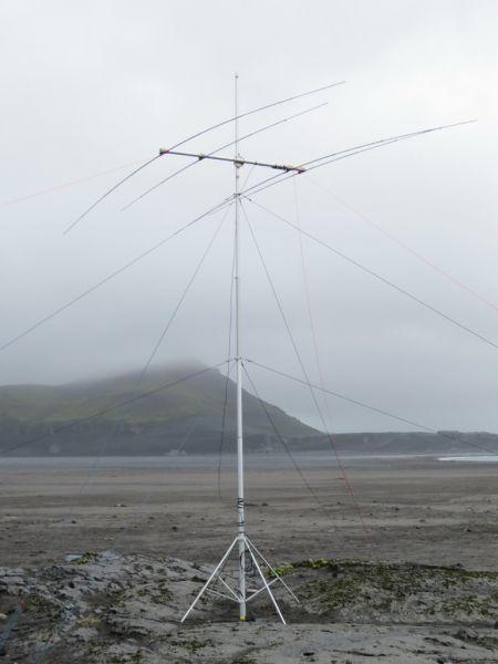 Ilha Heard VK0EK feixe da antena