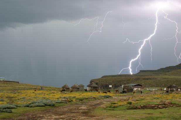 Lesotho 7P8C Sani Pass.