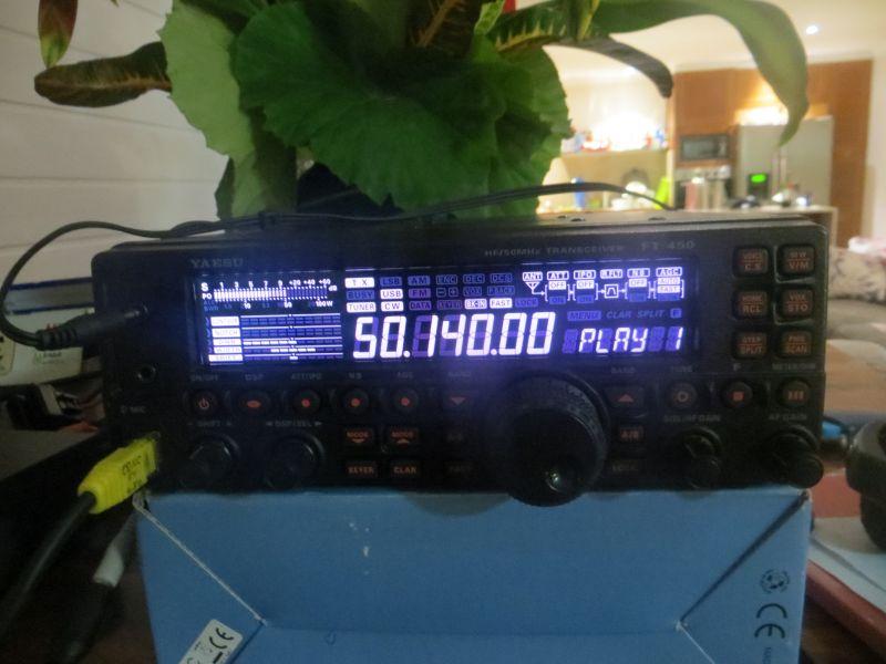 Vanuatu YJ0X 6m Beacon