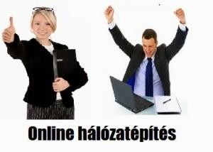 Online hálózatépítés sikeresen
